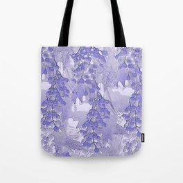 Blue grapes - abstract Tote Bag