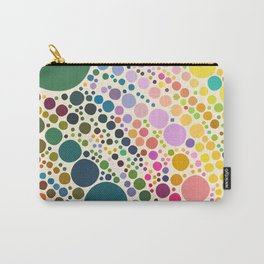 Light Pastel Pebble Pattern Carry-All Pouch