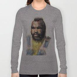 B.A. Baracus or Mr. T from the A-Team by Aaron Bir Long Sleeve T-shirt