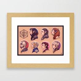 Vox Machina: the Cast of Critical Role Framed Art Print