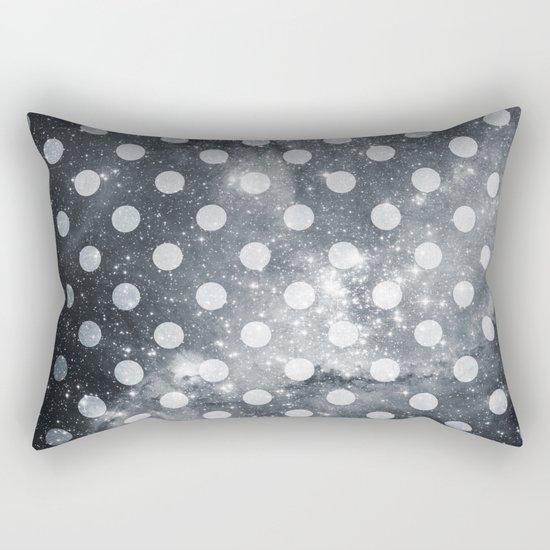 Polka Universe Rectangular Pillow