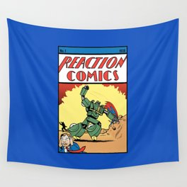 Reaction Comics Wall Tapestry
