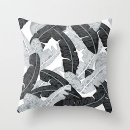 BANANA LEAVES 5 Throw Pillow