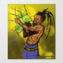 Coco Champion, Caribbean Life (Phase 1) Canvas Print
