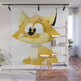 Kitty Cat Wall Mural