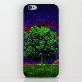 Warped Nature iPhone Skin