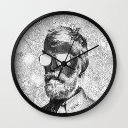 Graphic novelist Wall Clock