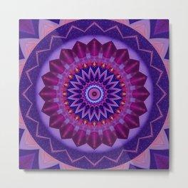 Mandala cosmic energy Metal Print