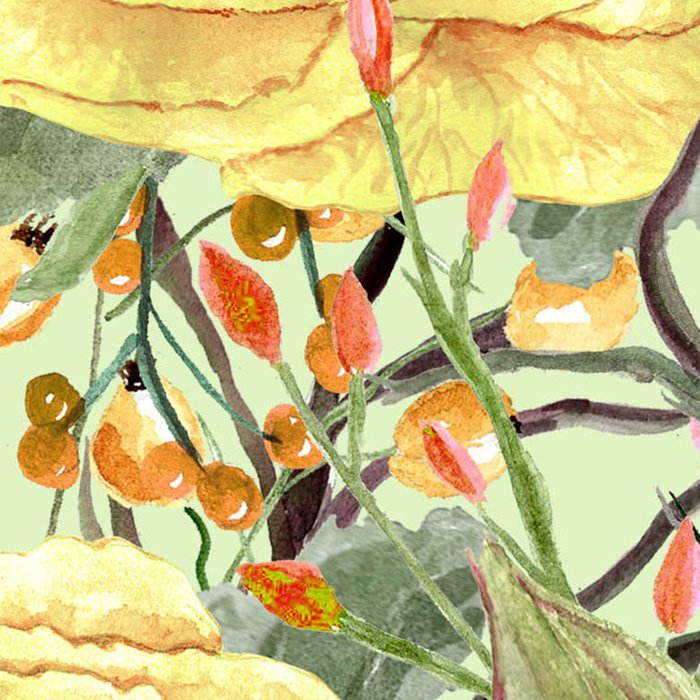 Watercolor Roses #3 Leggings