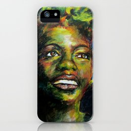 Nina Just Cares for Me iPhone Case