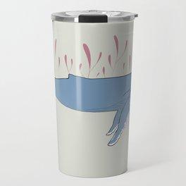 pretty whale Travel Mug