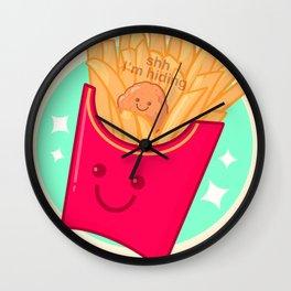 Hidden Nugget Wall Clock