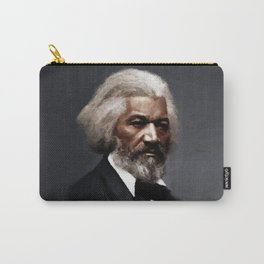 Frederick Douglass, African American Civil Rights Pioneer portrait painting Carry-All Pouch