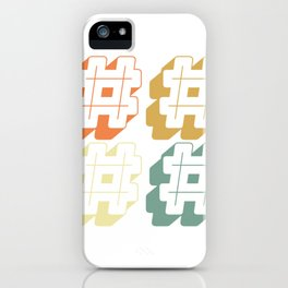 Social Media Hashtags For OnLine Influencers & Streamers iPhone Case