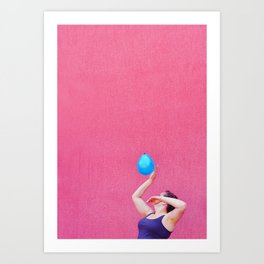 Candy game Art Print