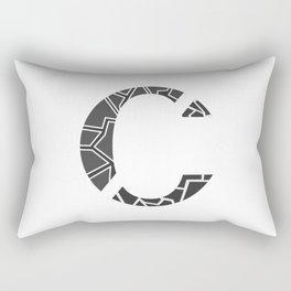 "Tao ""Letter C"" Rectangular Pillow"