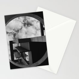 Abstract Apartment Building in San Francisco Stationery Cards