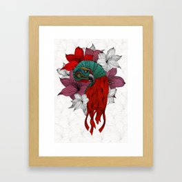 THE PARROT Framed Art Print