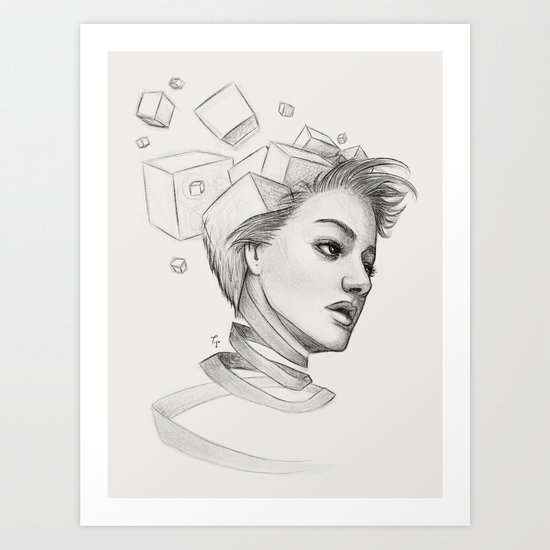 Thougths Art Print