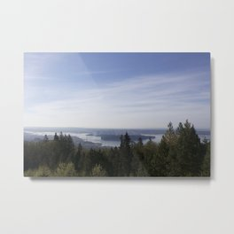 Vancouver Lookout Mount Cypress Metal Print