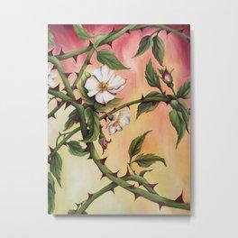 Vanilla Rose II Metal Print