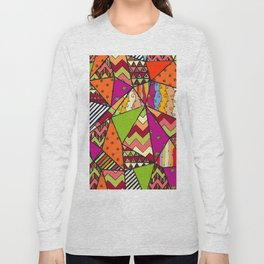 African Style No14, Tribal dance Long Sleeve T-shirt
