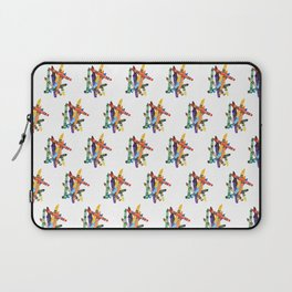 Crayon Pile Laptop Sleeve