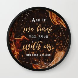 If we burn Wall Clock