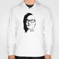 bill murray Hoodies featuring Skrill Murray by Ludwig Van Bacon