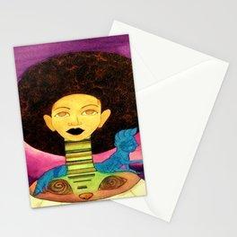 Black Alice Stationery Cards
