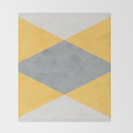 summer time triangles Throw Blanket
