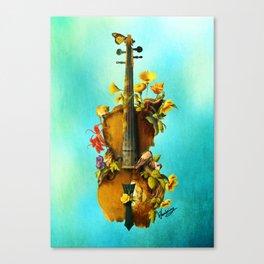 Undying Symphony Canvas Print