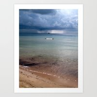There's a Storm Coming Art Print