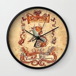 Creaturi Terribilus Wall Clock