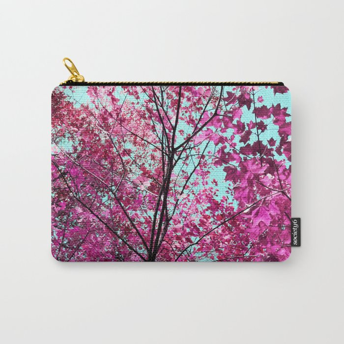 Autumn Pink Carry-All Pouch