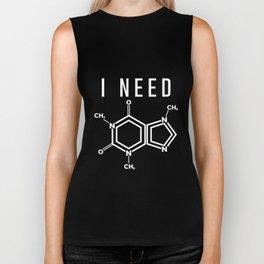 I Need Molecule Chain Diagram Chemistry Lover Design Biker Tank