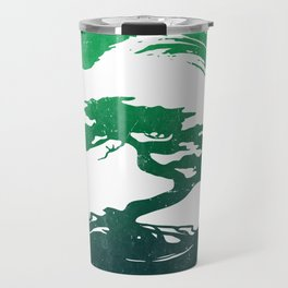 Green Bonsai in Enso Travel Mug