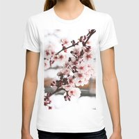 cherry blossoms T-shirts featuring Cherry Blossoms by paytonbdesigns