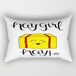 Hay Girl Hay! Rectangular Pillow