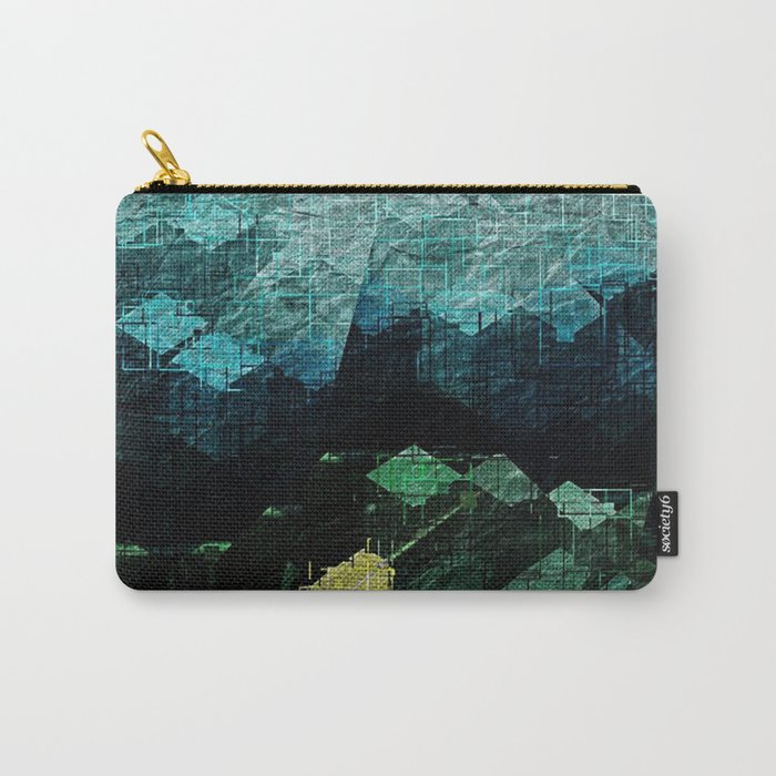 Bimorphic Geometry Carry-All Pouch