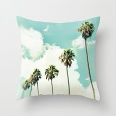 Paradise & Heaven Throw Pillow