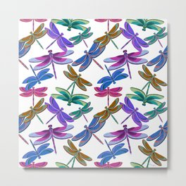 Flight of the Dragonflies Metal Print