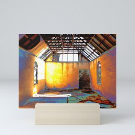 Abandoned Church Mini Art Print