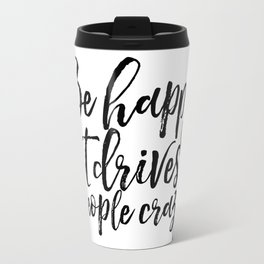 GOOD VIBES ONLY Positive Print Inspirational Poster Quotes about Happiness Happiness Day Positive Travel Mug