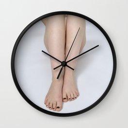 2197-PDJ Legs of a Nude Woman Tasteful Art Wall Clock