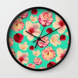 Sweet flower Blast! Wall Clock