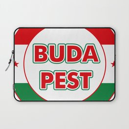 Budapest, circle, color Laptop Sleeve