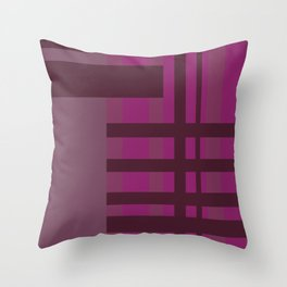All is Purple Throw Pillow