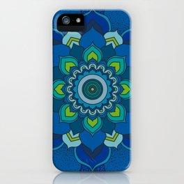Sea Mandala iPhone Case