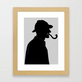 The Question Framed Art Print